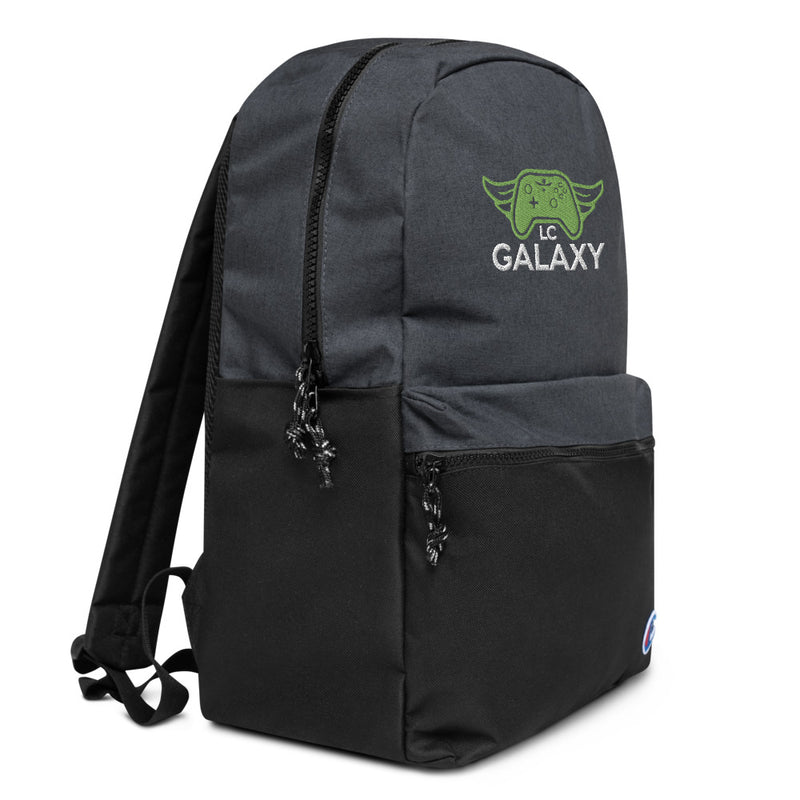 LC Galaxy Embroidered Champion Backpack
