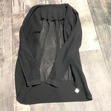 Load image into Gallery viewer, Joe Fresh black sheer cardigan- Hers size S