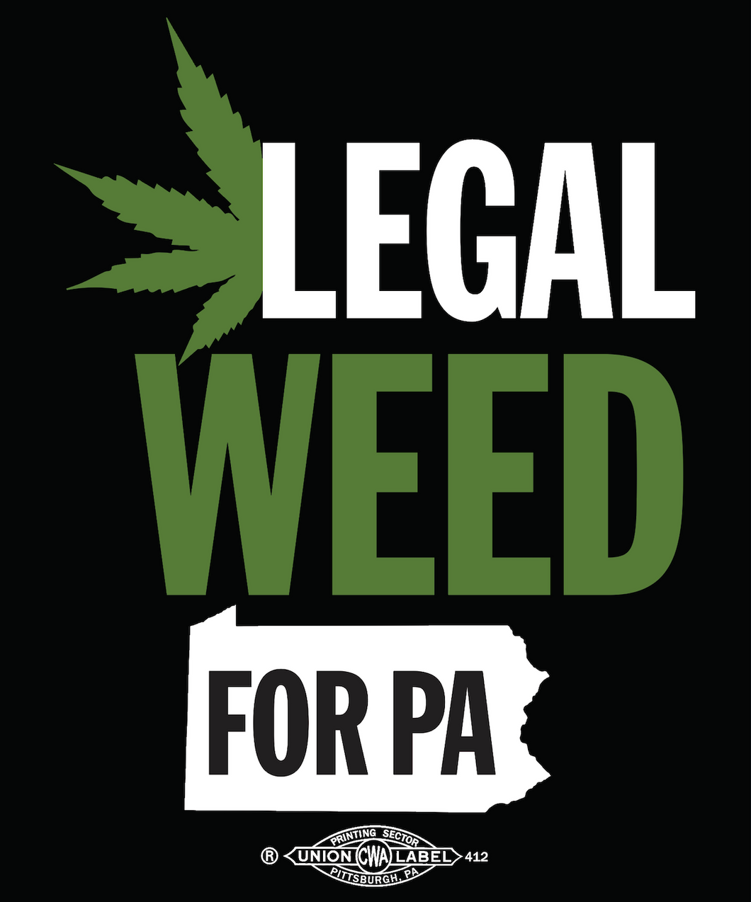 Legal Weed Sticker