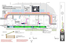 Load image into Gallery viewer, 3bed 2bath Open End Global Model Earthship Construction Drawings - Earthship Biotecture