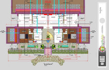 Load image into Gallery viewer, concrete-earthship-split-level-lower-floor-plan
