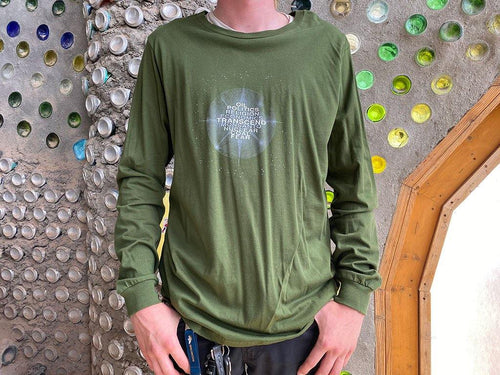 Transcend Long Sleeve T - Earthship Biotecture