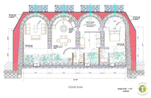 Load image into Gallery viewer, Unity Earthship Construction Drawings - Earthship Biotecture