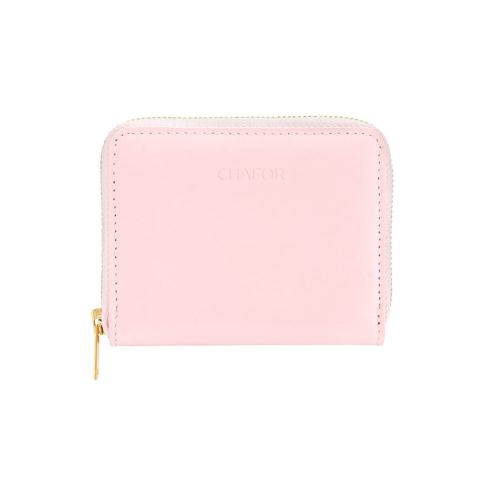 CHAFOR Small wallet in powder pink