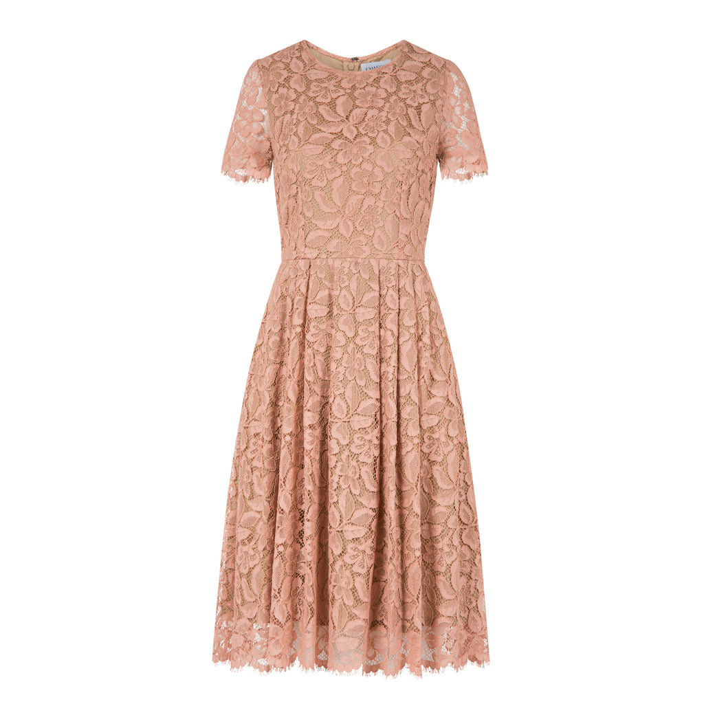 C217 Summer dress made from finest french lace