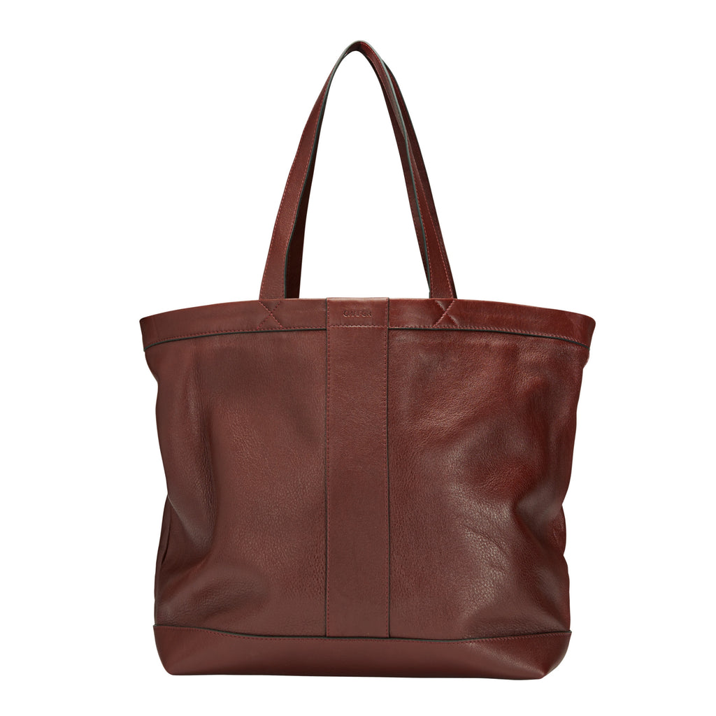 CHAFOR Bordeaux tote bag made from calf leather