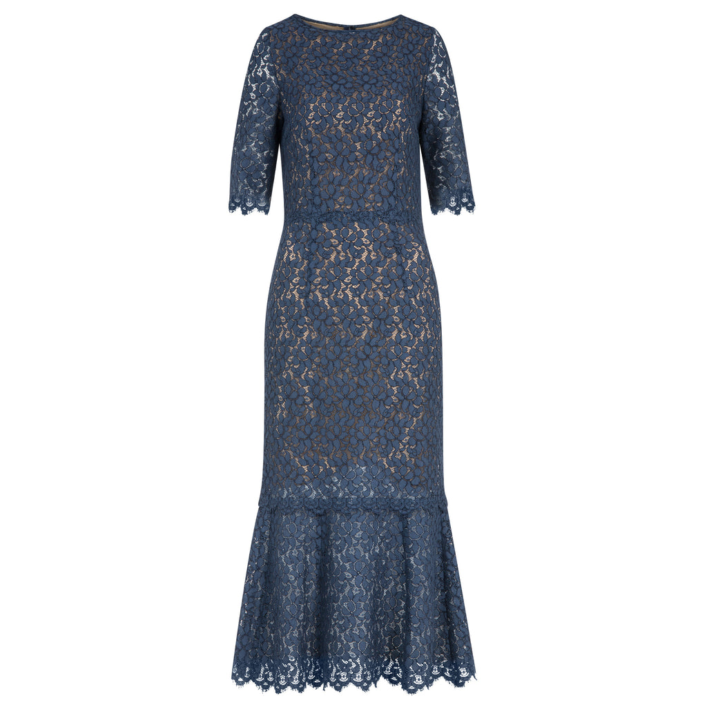 C218 Cocktail dress made from finest french lace