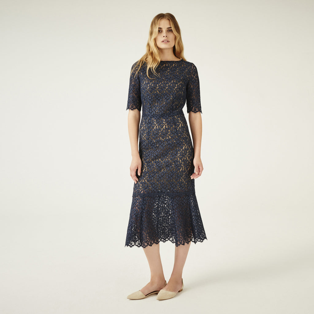 C218 Cocktail dress made from finest french lace - C218 Cocktail ...