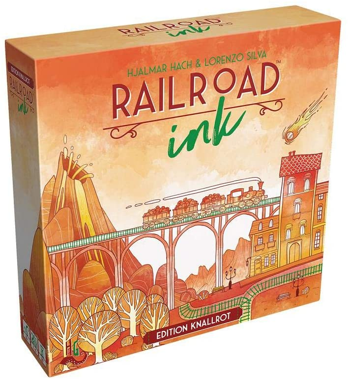 Railroad Ink - Edition Knallrot