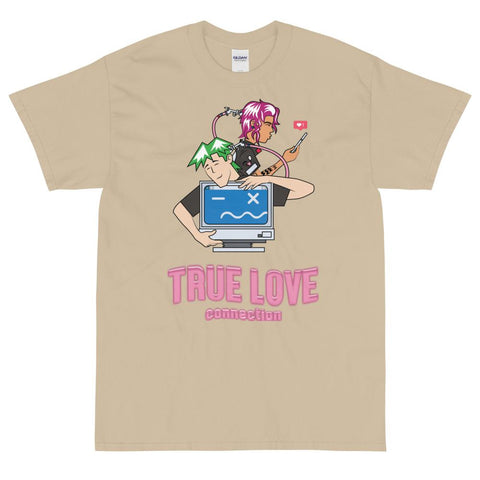 Computer Love Tee (Multi Colors)