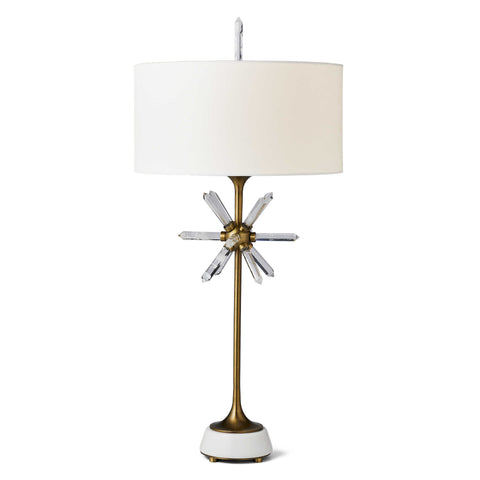 Star Quartz Table Lamp