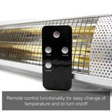 Load image into Gallery viewer, KMH-20R 2KW Infrared Outdoor Garden Patio Heater Wall Mounted with Remote Control