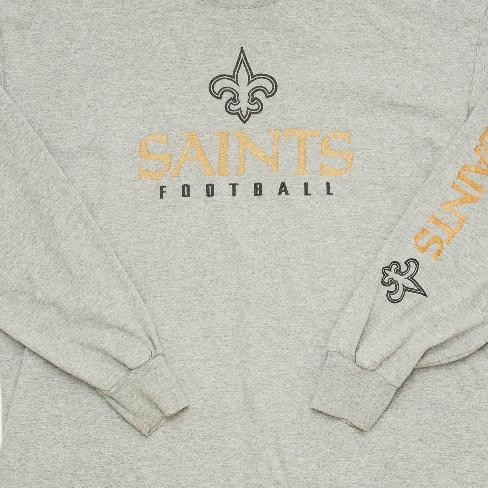 New Orleans Saints Longsleeve, Grey, XL