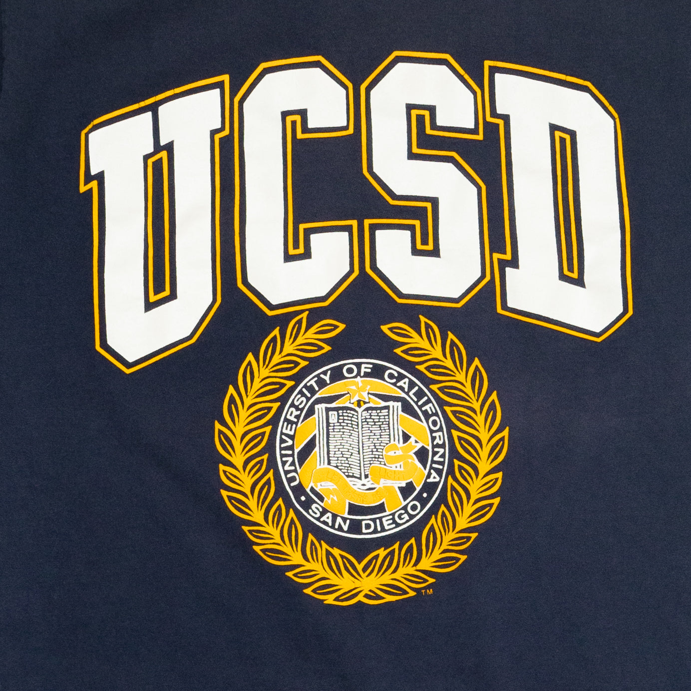 Russell Athletics UCSD San Diego T-Shirt, Blue, L