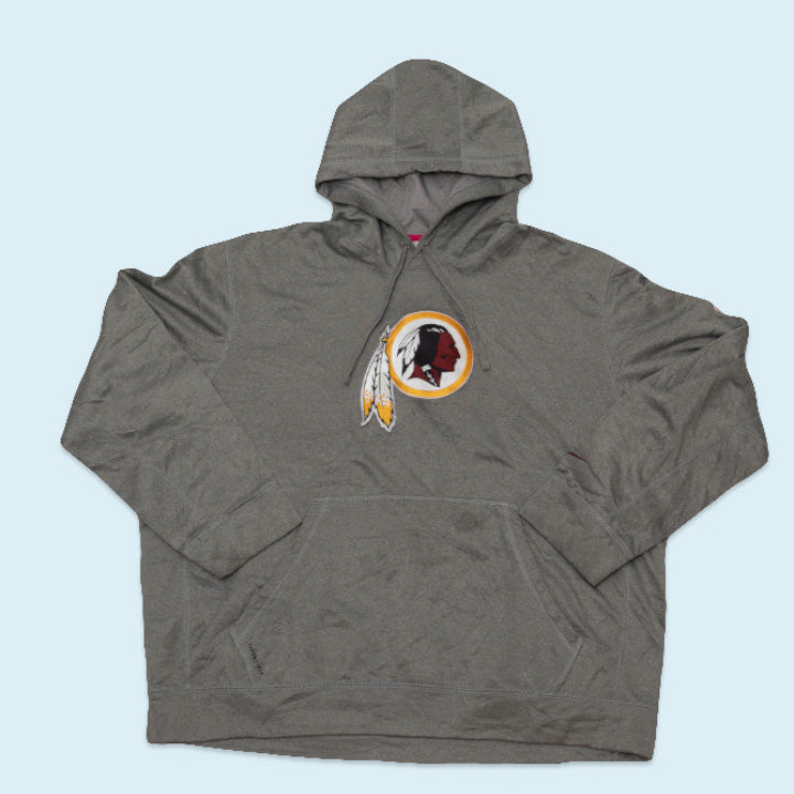 "Nike Hoodie ""USA Washington Redskins Cancer Awareness"", Grey, XXL"