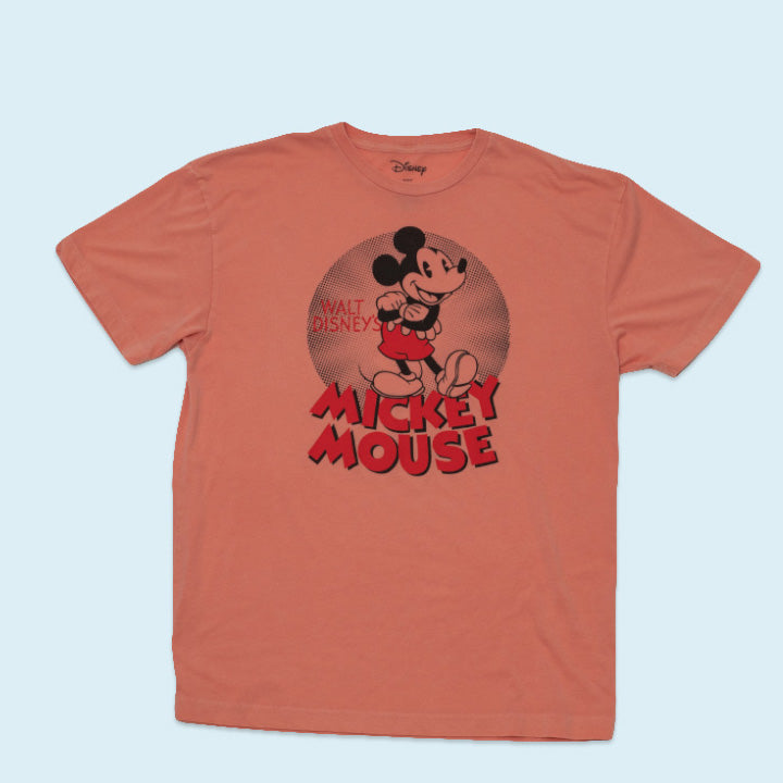 "Disney T-Shirt ""Mickey Mouse"", Orange, XL"