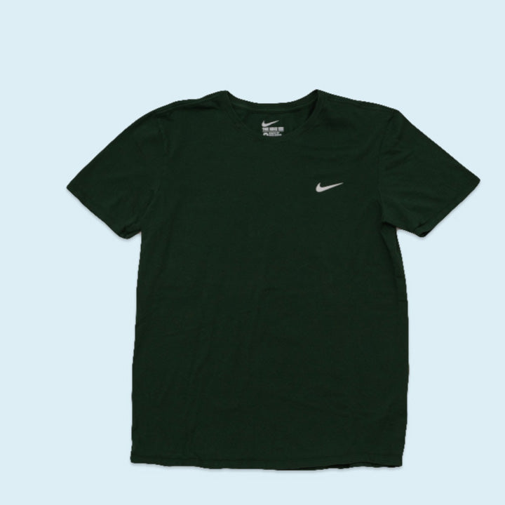 Nike small Swoosh T-Shirt, Green, M