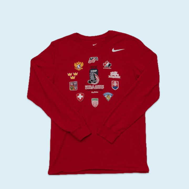 Nike Junior Championship Longsleeve, Red, S