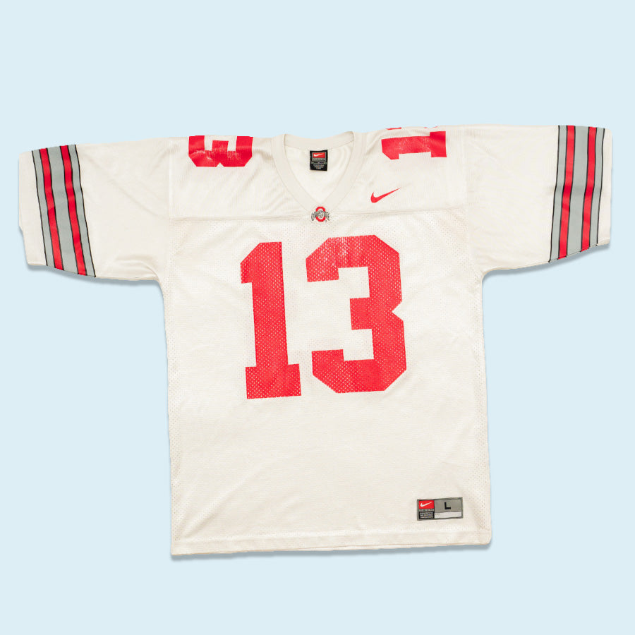 Nike Team Ohio State Jersey, White, L