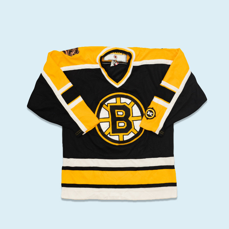 Koho NHL Youth Jersey, Black/Yellow, L/XL Youth