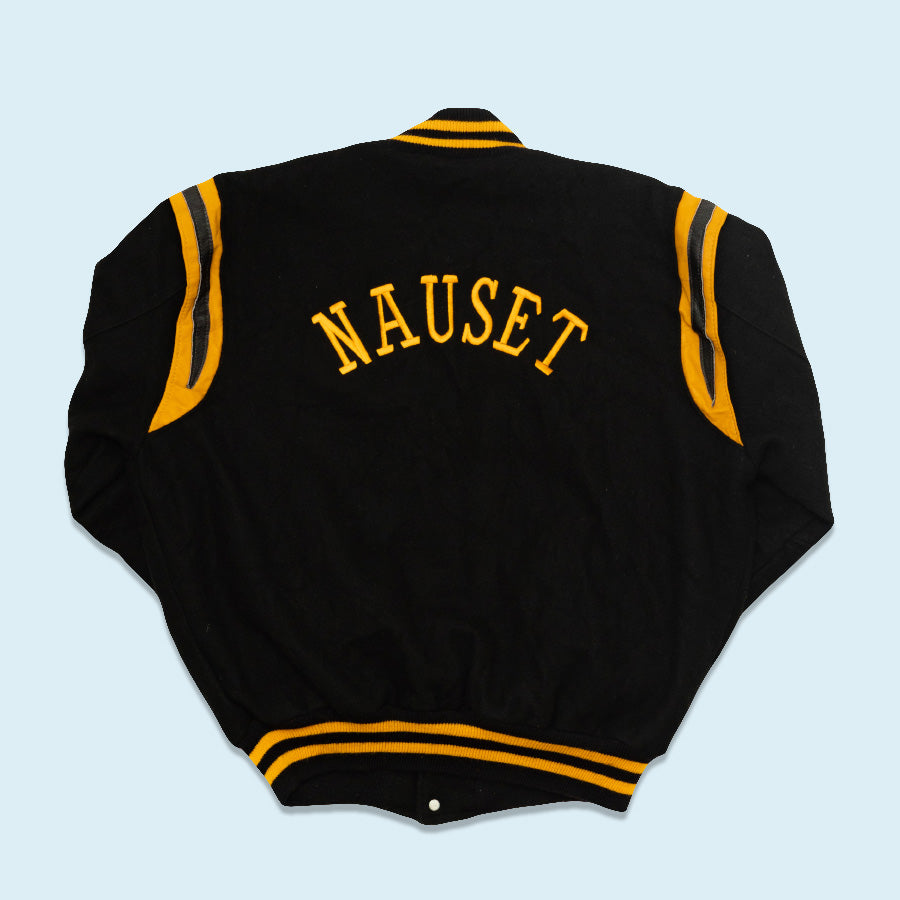 DeLong College Jacket Nauset Emily 96, Black/Yellow, L