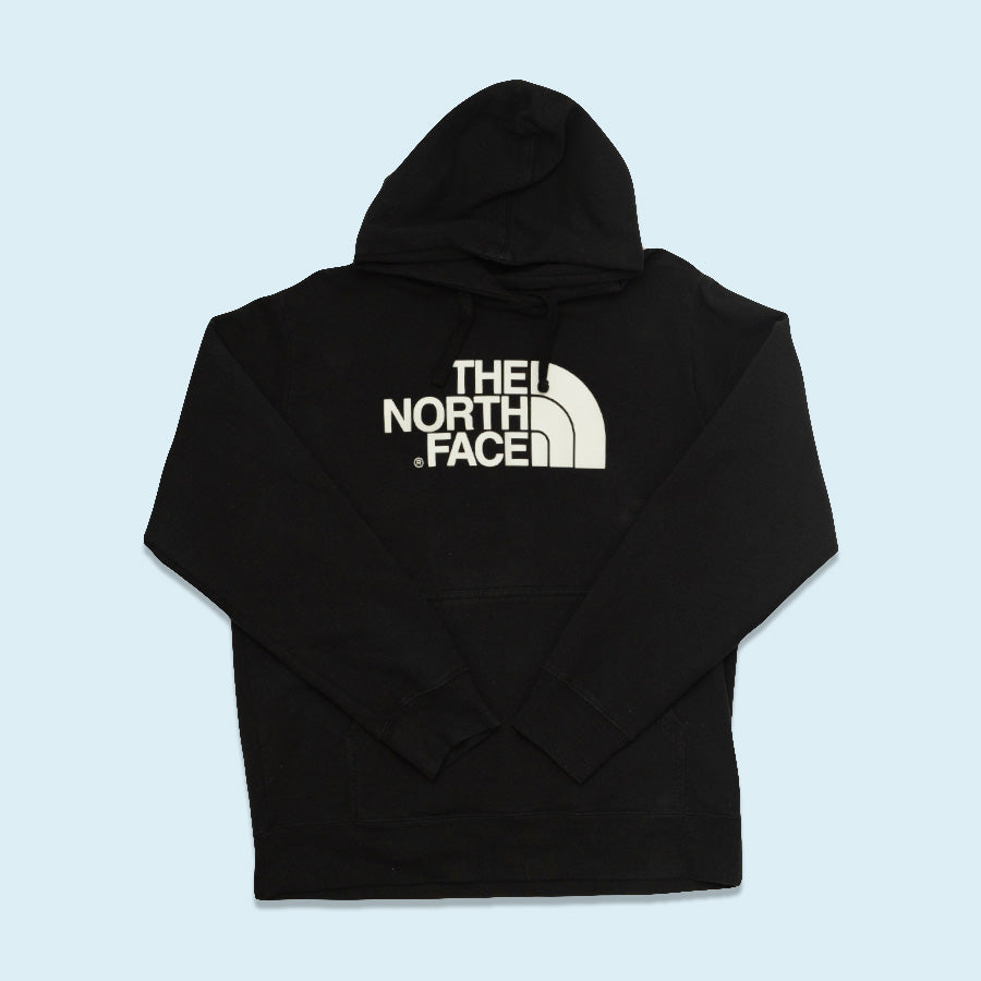 The North Face Logo Hoodie, Black, L