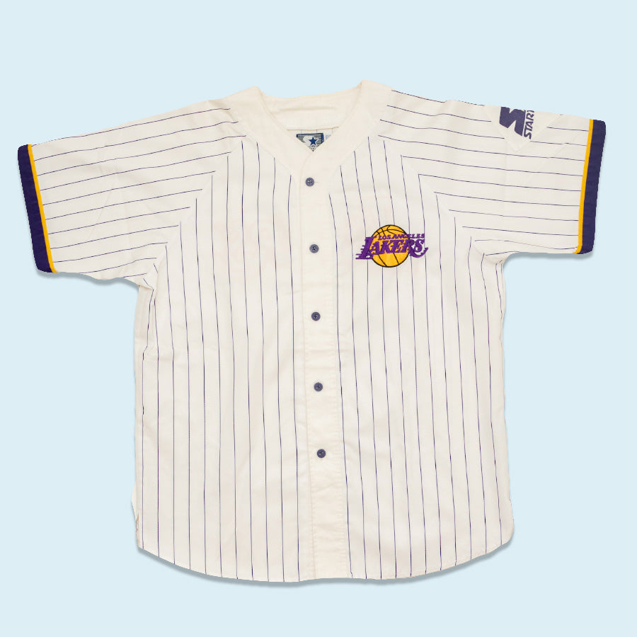 Starter LA Lakers Jersey, White, XL