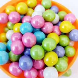 Shimmer Spring Mix Sixlets, Candy Coated Chocolate (Bulk Candy) - Sour Me Sweet Confectionery