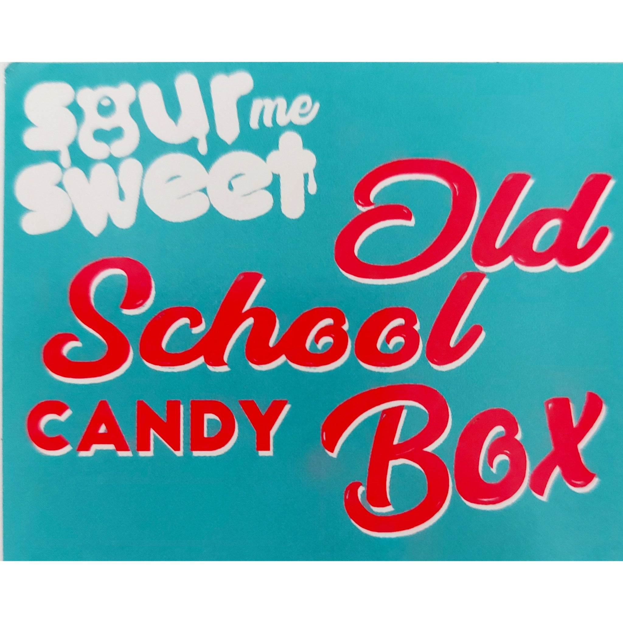 Old School Candy Gift Box