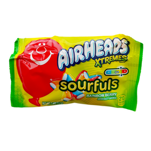 Airheads Xtremes Sourfuls Chews, Rainbow Berry