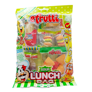 efrutti Sour Gummy Lunch Bag