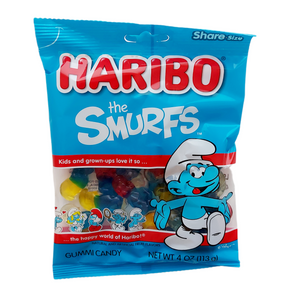 Haribo Gummies The Smurfs