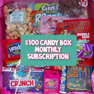 $100 Monthly Candy Subscription