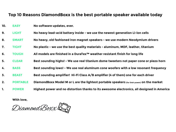 TOP 10 Reasons DiamondBoxx is the BEST