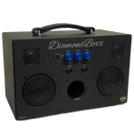 DiamondBoxx M3 with blue knobs bluetooth boombox spotify pandora soundcloud