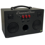 DiamondBoxx M3 with red knobs bluetooth boombox spotify pandora soundcloud