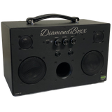 DiamondBoxx M3 with black knobs bluetooth boombox spotify pandora soundcloud
