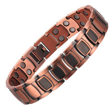 Load image into Gallery viewer, Mens Metal Bracelet Cuff