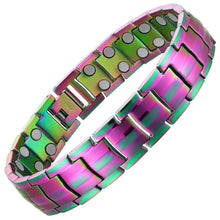 Load image into Gallery viewer, Rainbow Titanium Bracelet
