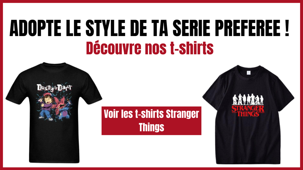 T-shirts Stranger Things | La Boutique Stranger Things