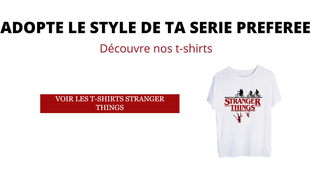 T-shirts | La Boutique Stranger Things