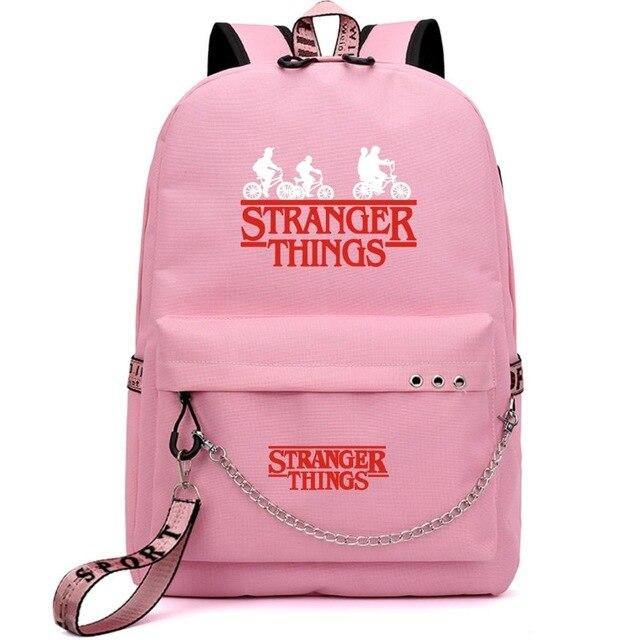 Sac Stranger Things Bike Red rose