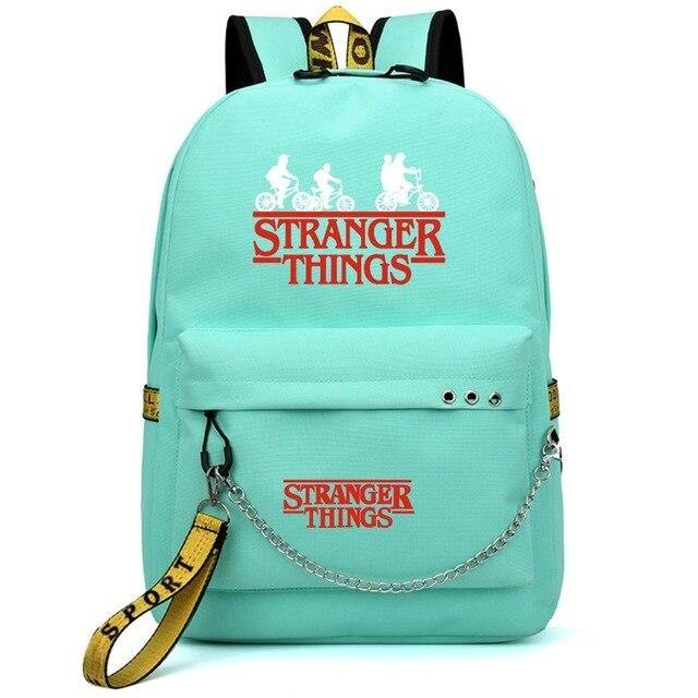 Sac Stranger Things Classic Red fuchsia/jaune