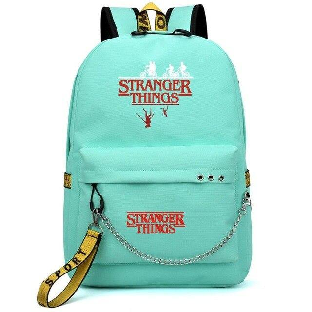 Sac Stranger Things Bike Red fuchsia/jaune