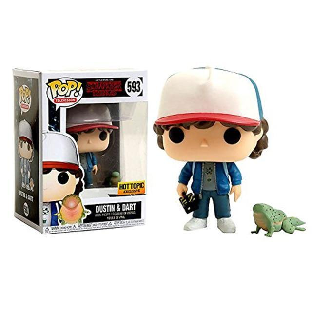 Figurine POP Stranger Things Dustin & Dart