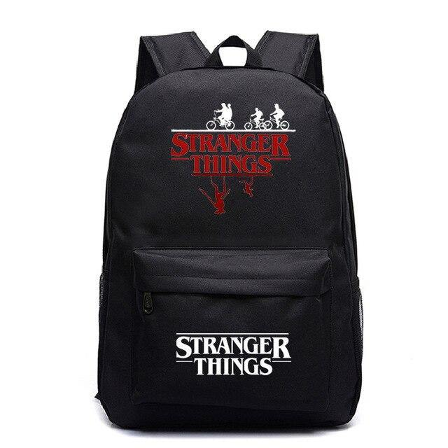 Sac Stranger Things ombre noir