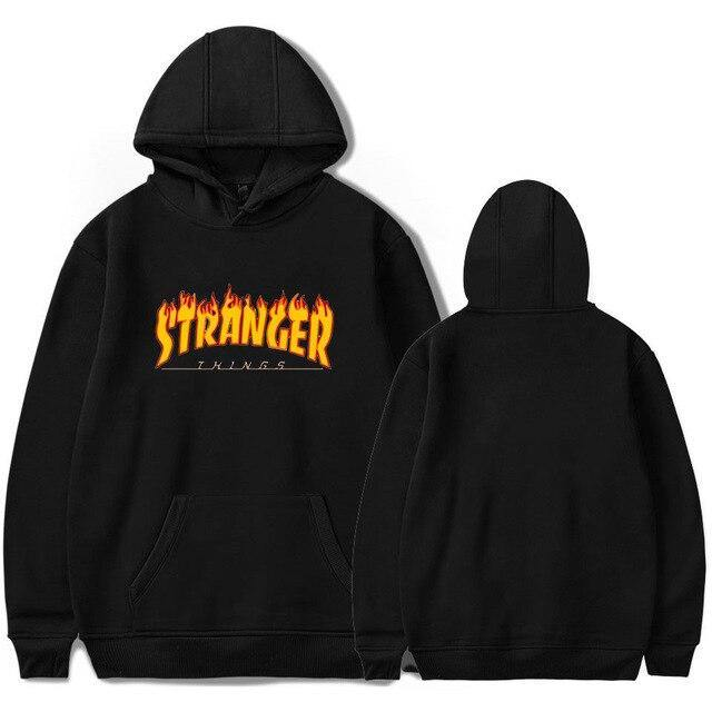 Sweat Stranger Things flammes