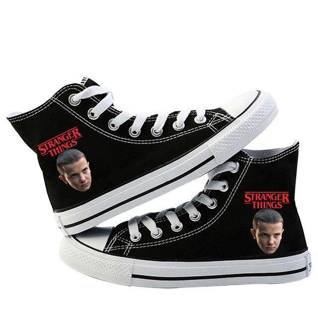 Chaussures Stranger Things Black Eleven | La Boutique Stranger Things
