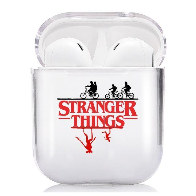 Coque Airpods Stranger Things ombre vélo | La Boutique Stranger Things
