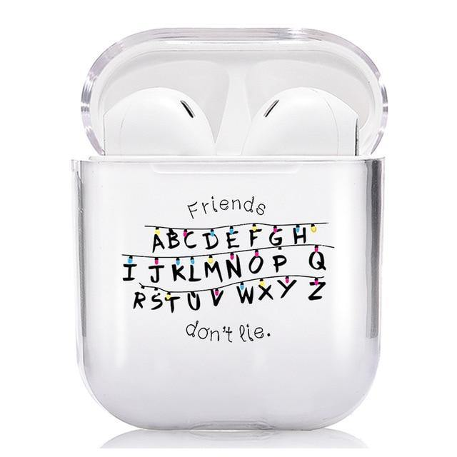 Coque Airpods Stranger Things alphabet